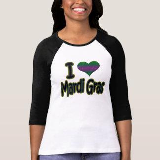 Ik houd van Mardi Gras T Shirt