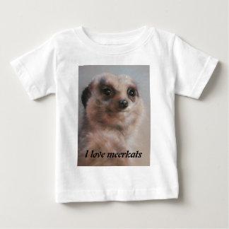 Ik houd van meerkats baby t shirts