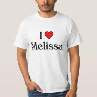 Ik houd van Melissa T Shirt