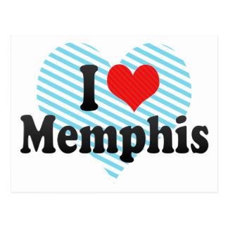 Ik houd van Memphis Briefkaart
