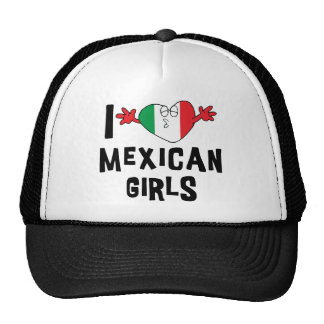 Ik houd van Mexicaanse Meisjes Petten