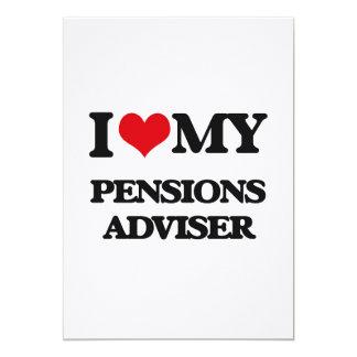 Ik houd van mijn Adviseur van Pensioenen Persoonlijke Aankondiging