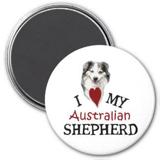 Ik houd van mijn Australische Herder Magneet