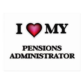 Ik houd van mijn Beheerder van Pensioenen Briefkaart