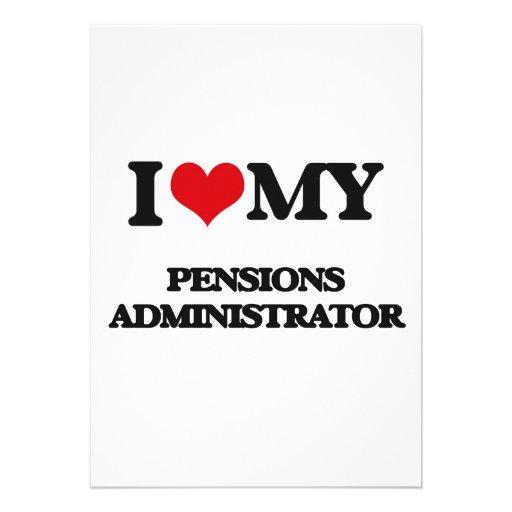 Ik houd van mijn Beheerder van Pensioenen Uitnodiging