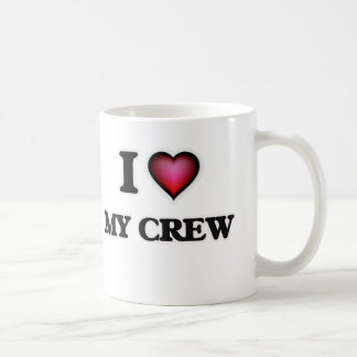 Ik houd van Mijn Bemanning Koffiemok
