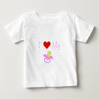 Ik houd van Mijn Binky Baby T Shirts