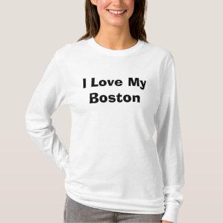Ik houd van Mijn Boston T Shirt