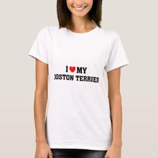 Ik houd van mijn Boston Terrier T Shirt