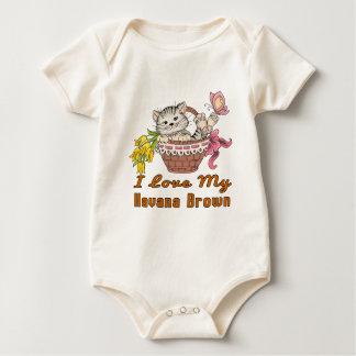 Ik houd van Mijn Bruin Havana Baby Shirt