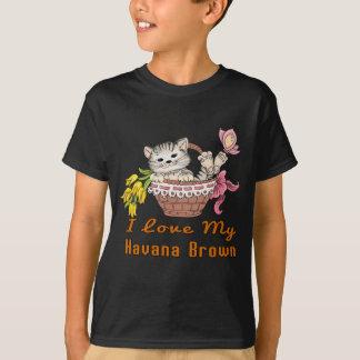 Ik houd van Mijn Bruin Havana T Shirt