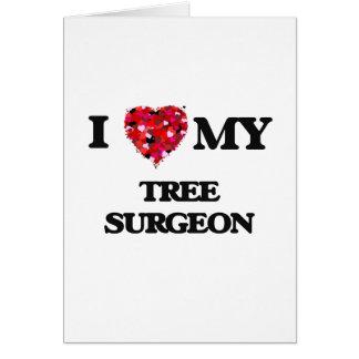 Ik houd van mijn Chirurg van de Boom Kaart