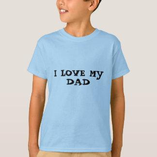 Ik houd van mijn de t-shirtkind van de Papa T Shirt