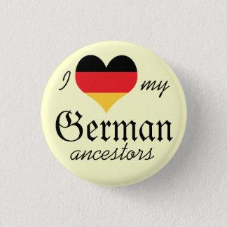 Ik houd van mijn Duitse voorvaderenKnoop Ronde Button 3,2 Cm