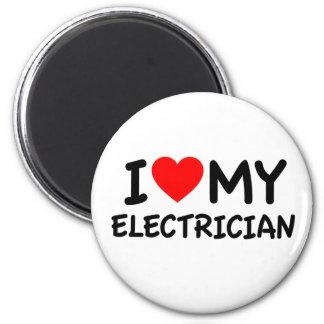 Ik houd van mijn elektricien magneet