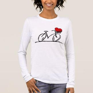 Ik houd van mijn fiets t shirts