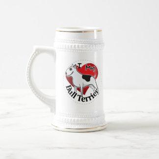 Ik houd van Mijn Gelukkig Schattig Grappig & Leuk Bierpul