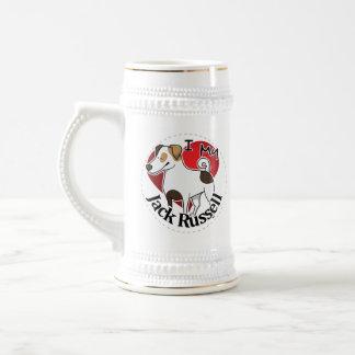 Ik houd van Mijn Gelukkige Schattige Grappige & Bierpul