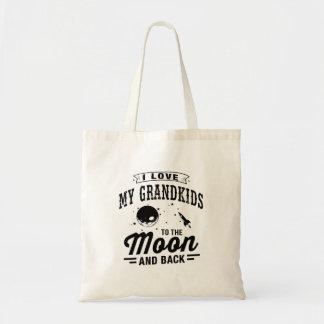 Ik houd van Mijn Grandkids aan de Maan en de Rug Draagtas