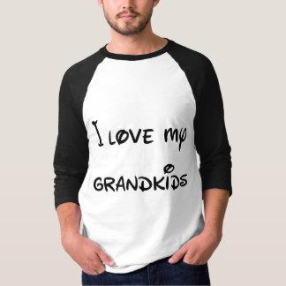 Ik houd van mijn Grandkids aan de Maan en de Rug T Shirt