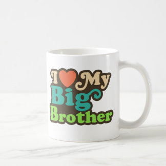 Ik houd van Mijn Grote Broer Basic Witte Mok