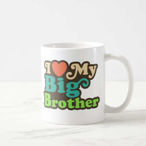 Ik houd van Mijn Grote Broer Koffie Mokken