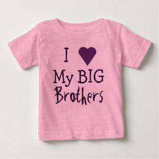Ik HOUD van Mijn Grote Broers T Baby T Shirts