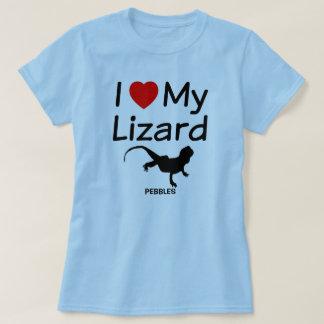 Ik houd van Mijn Hagedis T Shirt