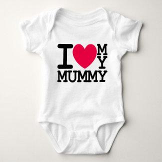 ik houd van mijn het baby kinder ontwerp van het romper
