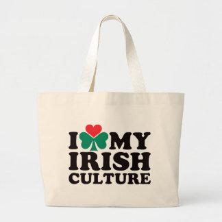 Ik houd van Mijn Ierse Cultuur Grote Draagtas