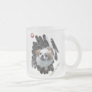 Ik houd van Mijn Kin Matglas Koffiemok