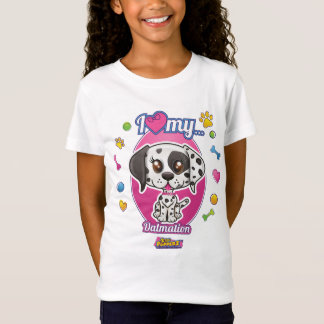 Ik houd van Mijn Kleding Dalmation T Shirt