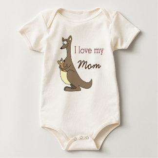 Ik houd van Mijn Kleren van het Baby van de Baby Shirt