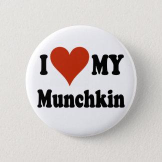 Ik houd van Mijn Koopwaar Munchkin Ronde Button 5,7 Cm