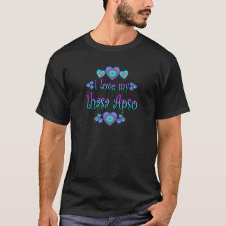 Ik houd van Mijn Lhasa Apso T Shirt