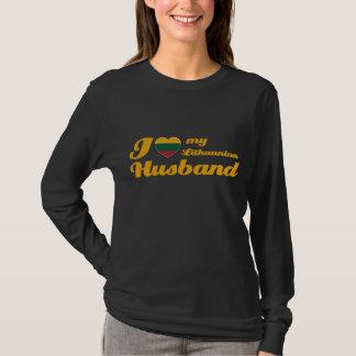 Ik houd van mijn Litouwse Echtgenoot T Shirt