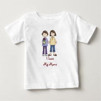 Ik houd van Mijn Mamma's onsie Baby T Shirts