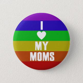 Ik houd van mijn Mamma's Ronde Button 5,7 Cm