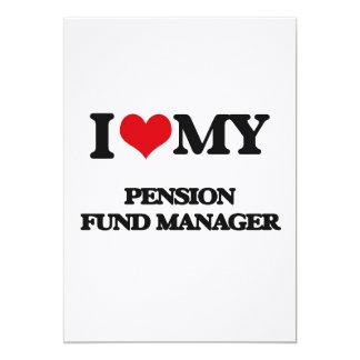 Ik houd van mijn Manager van het Fonds van het Persoonlijke Uitnodiging
