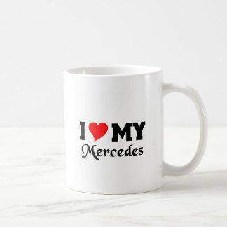 Ik houd van mijn Mercedes Koffiemok