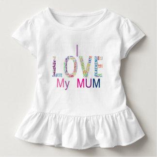 Ik houd van mijn mum kinder shirts