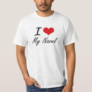 Ik houd van Mijn Navel T Shirt