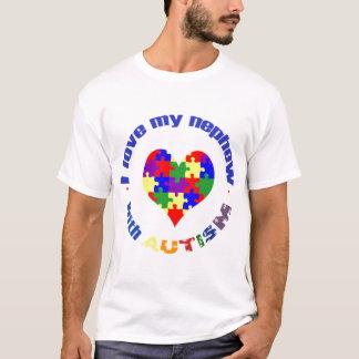 Ik houd van mijn neef met autisme t shirt