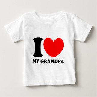 Ik houd van Mijn Opa Baby T Shirts