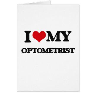 Ik houd van mijn Optometrist Kaart