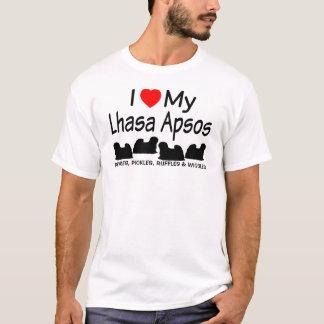 Ik houd van Mijn Overhemd van Vier Honden van T Shirt