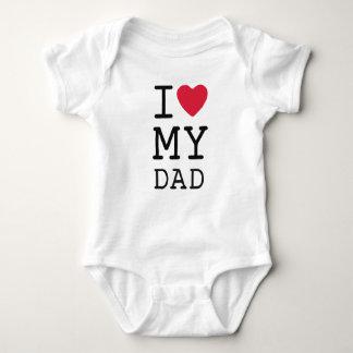Ik houd van Mijn Papa door MiniBroers Romper
