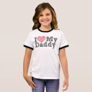 Ik houd van mijn papa t shirts