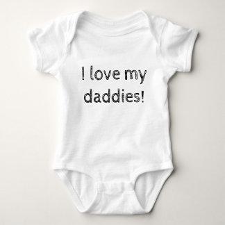 Ik houd van Mijn Papa's! Romper