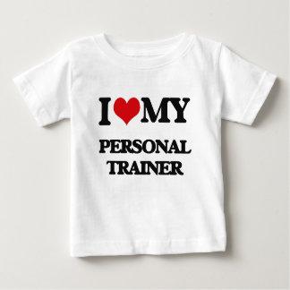 Ik houd van mijn Persoonlijke Trainer Baby T Shirts